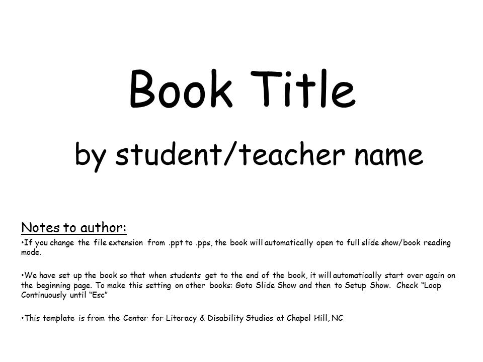 Simple Book Template-image