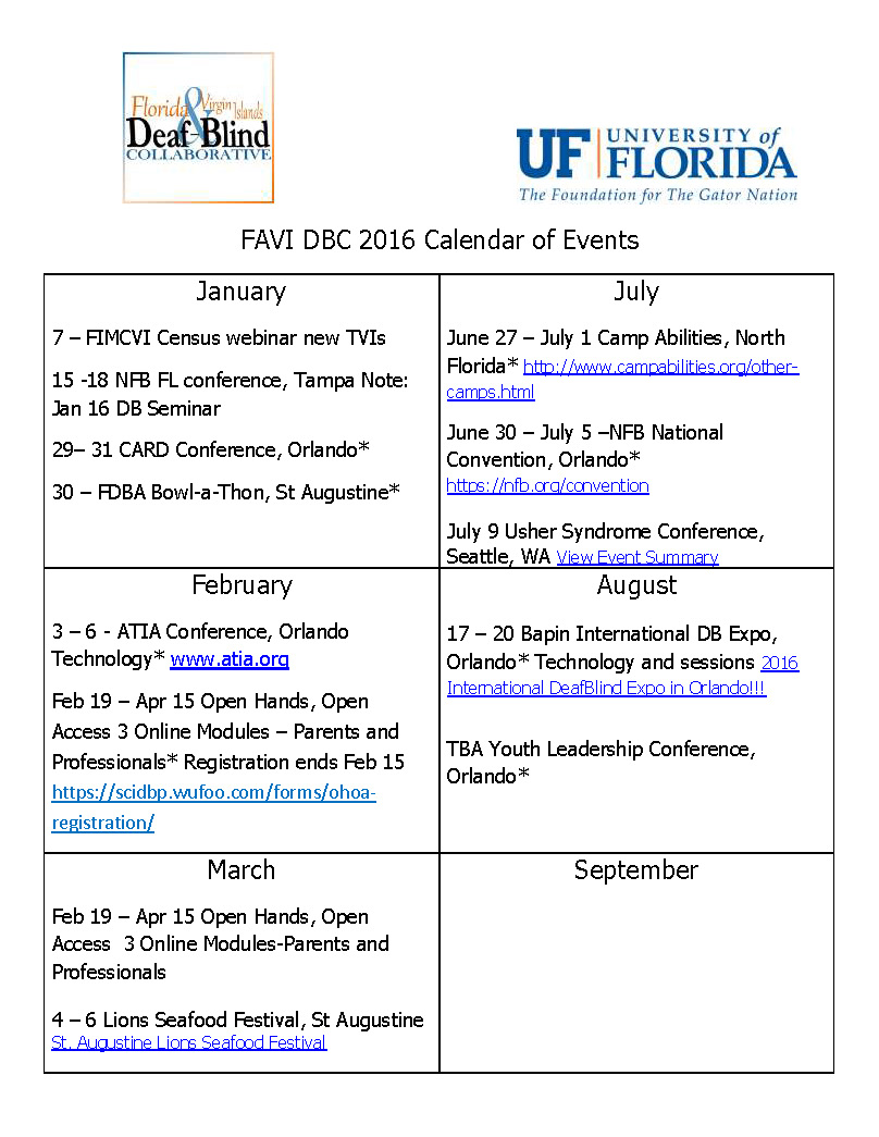 FAVIDBC 2016 Calendar of Events with links_Page_1